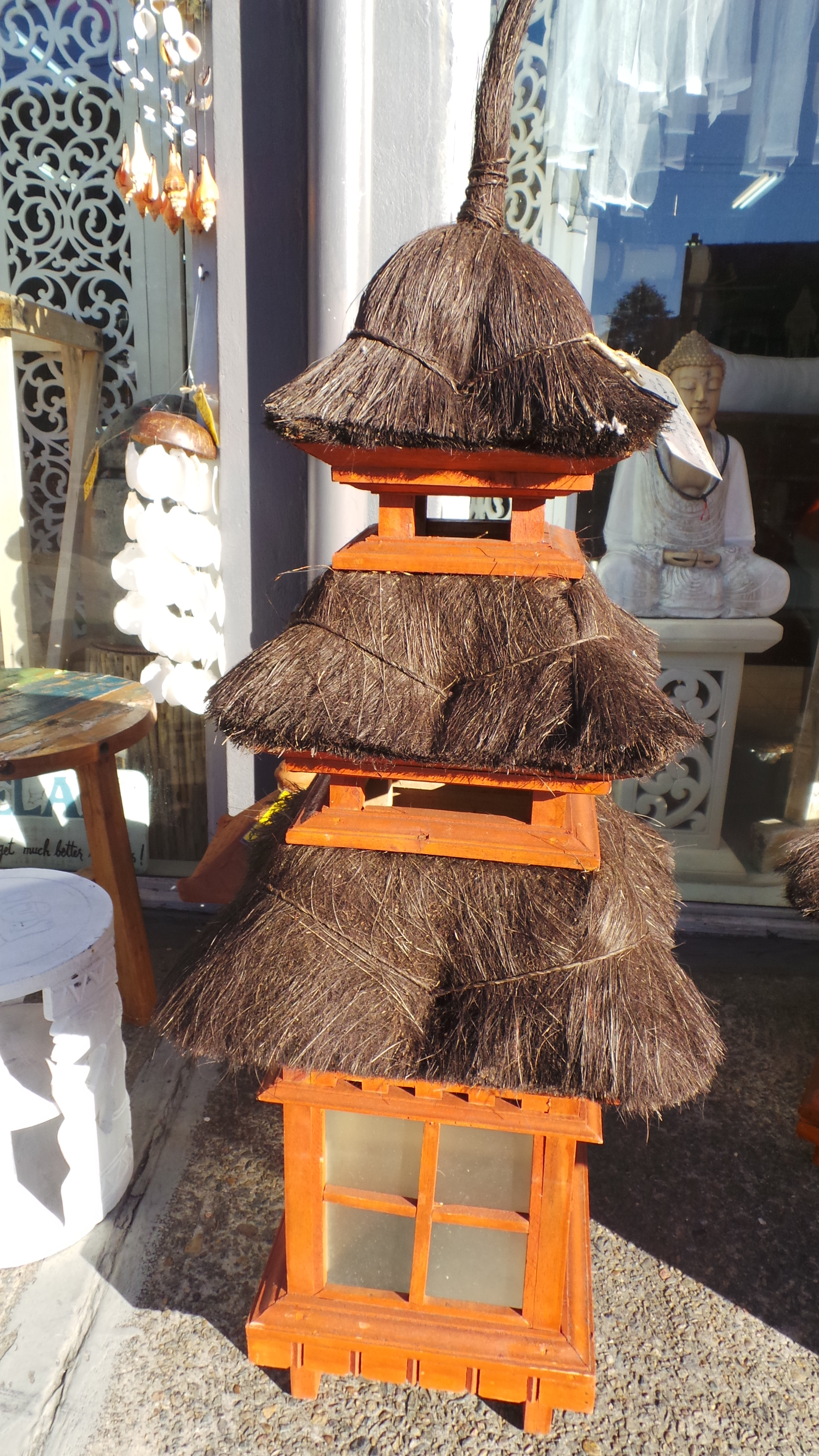 Balinese Thatched Outdoor Garden Light ⋆ That Bali Shop
